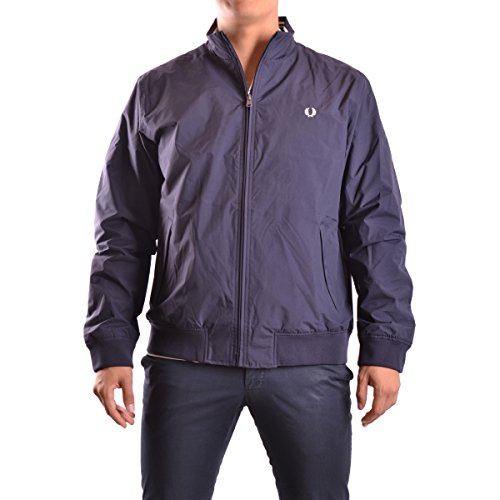 Fred Perry Men's Brentham Jacket, Navy, Small