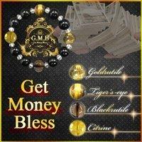 『【公式】G.M.B~Get Money Bless~ 3本セット / SNSでも話題の人気金運グッズ!! ブレス パワーストーン 開運グッズ 金運 開運 財運 勝ち組 お金 お守り パワースポット 運気 幸運 開運アイテム 金運アイテム』の2枚目の画像