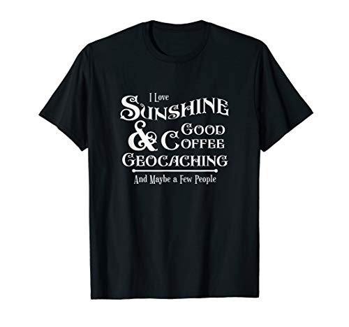 Funny Geocaching Stash Cache Trackable Code Swag Novelty T-Shirt