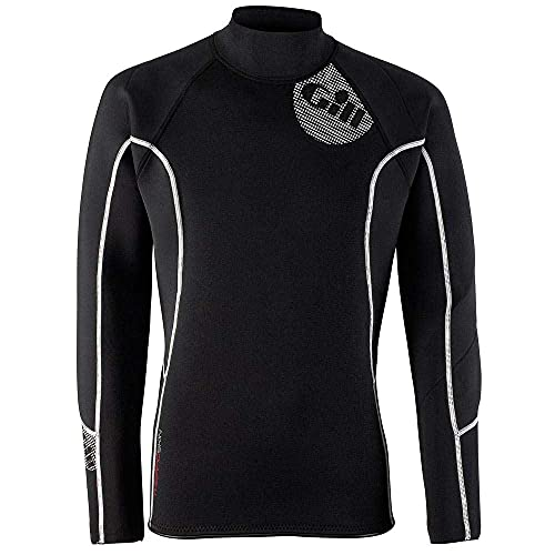 2016 Gill Mens 2.5mm THERMOSKIN Long Sleeve TOP Black 4616 Size - - Extra Large