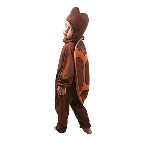 Fantasia Tartaruga Infantil Sulamericana Fantasias Marrom M-4 Anos