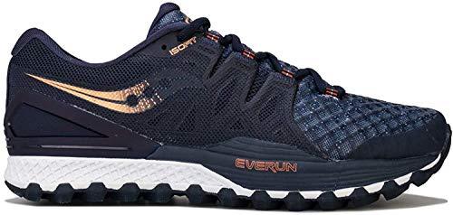Saucony Xodus ISO 2, Zapatillas de Deporte Hombre, Azul (Nvy/Den/Copa 30), 45 EU