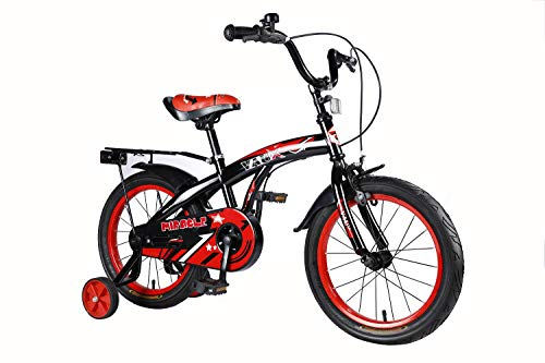 Vaux Miracle Kids Bicycle for Boys (16T, Red)