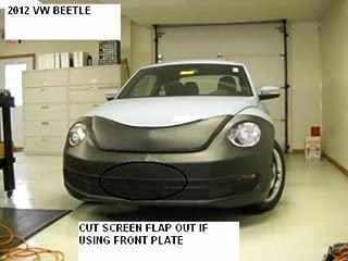 Lebra 2 piece Front End Cover Black - Car Mask Bra - Fits - VOLKSWAGEN VW BEETLE 2012-2014. Except 2.0 Turbo Conv, R-Line & GSR.
