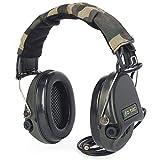 ZTAC Sordin - Auriculares antirruido de Tir electrónicos, amplificador sonoro y protección auditiva para tiro de seguridad y caza y IPSC Z037 (negro)
