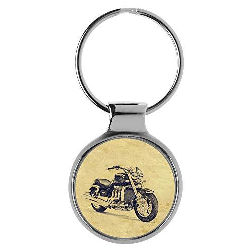 KIESENBERG Schlüsselanhänger Geschenke für Triumph Rocket Motorrad Fan A-20445