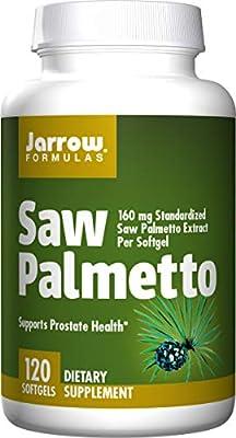 Jarrow Formulas Saw Palmetto Promotes Prostate Health Softgels, 160 mg, 120-Count