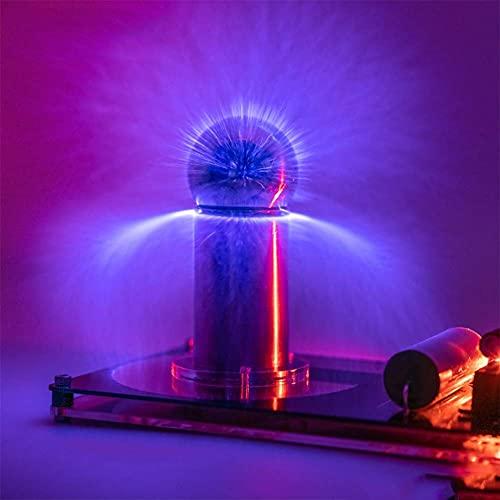 Festival de música Bobina de música Equipo de Experimento de Ciencia física Juguetes Bobina de 5 CM, Generador de relámpago súper Artificial, Equipo de Experimento científico
