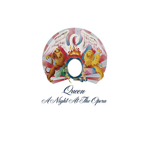 Queen - A Night at the Opera (Limited Black Vinyl) [Vinyl LP]