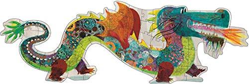 Janod Los Animales de la Granja Puzle Táctil, 20 Piezas, Multicolor ( J02772)