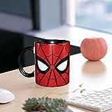 Taza De Té Con Asa Taza De Café 330 Ml Spider-Man Eyes Porcelana Apta Para Lavavajillas Regalo Infantil