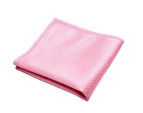 Zilotex 95214 Fett-Weg-Tuch für die Küche, 2er-Pack, 30 x 30 cm, pink, bioaktives Mikrofaser-Reinigungstuch ohne Chemie, Aktiv-Silber, allergikerfreundlich
