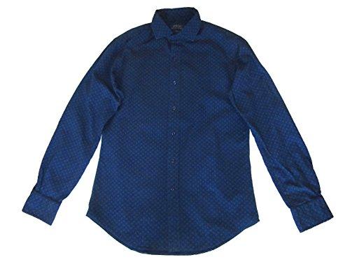 Ralph Lauren Herren Poloshirt Slim Fit Button-Down Langarm Blau -  Blau -  Mittel