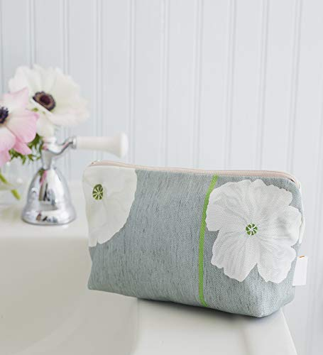 Makeup Bag: White Grey Poppies Surprise price Brand new on