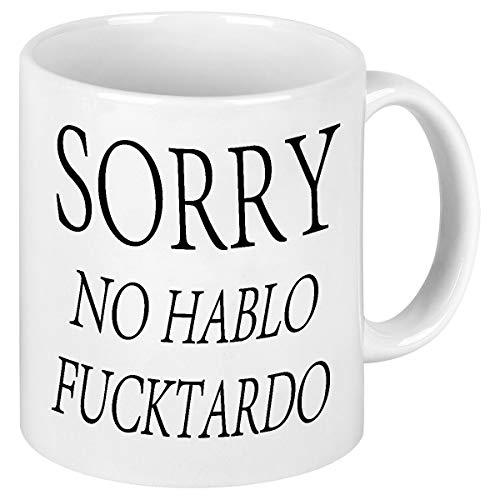 Funny Quote Coffee Mug Sorry No Hablo Novelty Gag Gift For Men Women Ceramic Funny Office Ceramic...