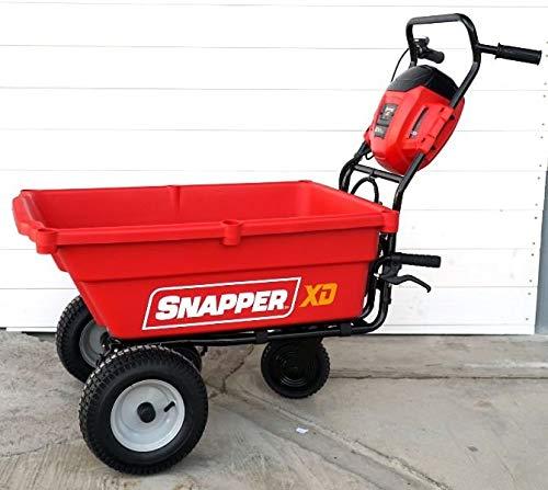 Snapper EXSDUC82 Brouette autotractée à batterie