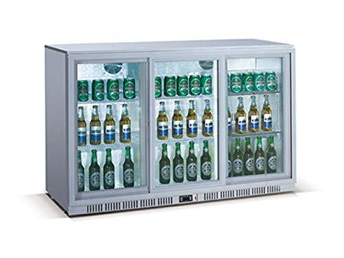 Profi Flaschenkühlschrank, 330 Liter, 0° C/ +10° C, Umluftkühlung, abschließbar, GGG LG-330S