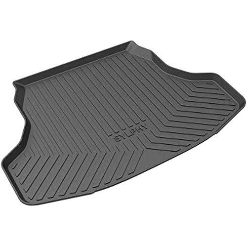 XLUCBS Car Boot Mat TPO Rubber Non-Slip Waterproof Car Rear Trunk Mat Custom Tailored Auto Rear Trunk Accessories, for