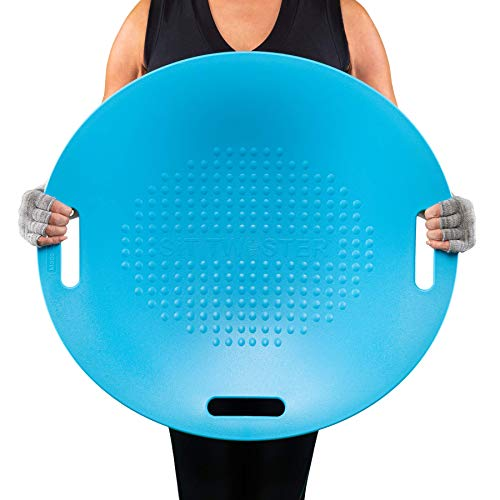SIT TWISTER Exercise Twist Disc - Improve Posture, Core Strength, and Muscle Tone - Fun, Easy to Use Fitness Equipment - Ab Workout Fit Board (Sport Blue )
