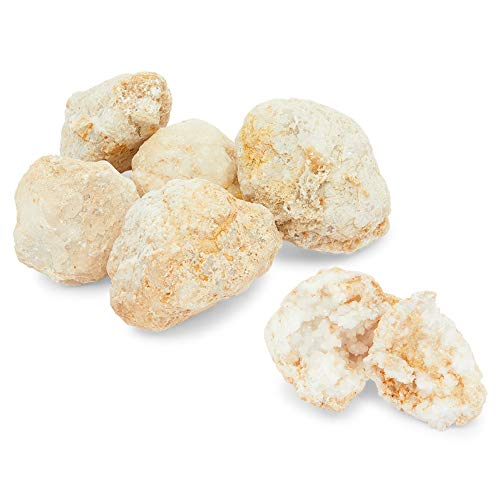 Okuna Outpost Break Your Own Geodes, Crystals Surprise for Kids (2lbs, 6 Pack)