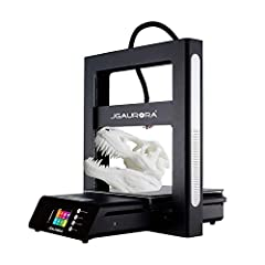JGAURORA 3d printer A5S has large build size: 305*305*320mm (12*12*12. 6in) Filament RUN-OUT detection : The machine beeps when filament runs out to remind you to change new filament quickly BDG Heated Platform: Allows easy removable of printed model...