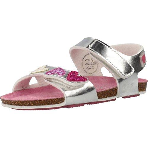 Sandalen/Sandaletten M�dchen, color Silber , marca AGATHA RUIZ DE LA PRADA, modelo Sandalen/Sandaletten M�dchen AGATHA RUIZ DE LA PRADA U420 PTB Silber