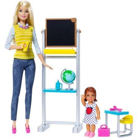 Barbie Career Teacher Doll and Playset