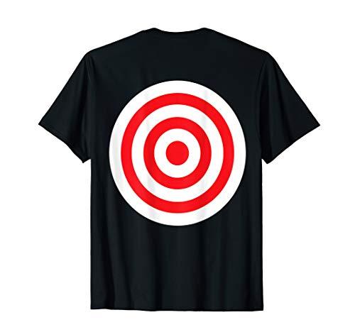 (Print on Back) Funny Bullseye Targ…