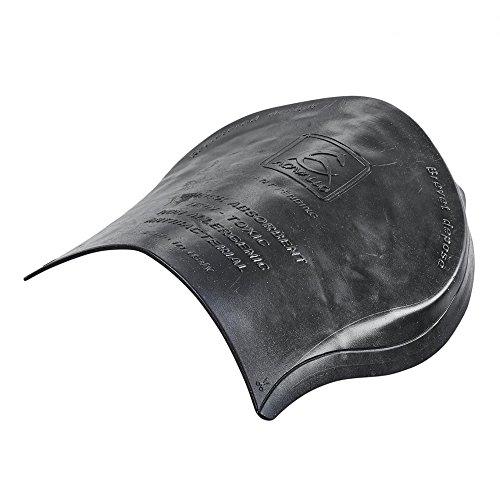 Acavallo Gel-Pad 1/2 - hinten erhöht - schwarz