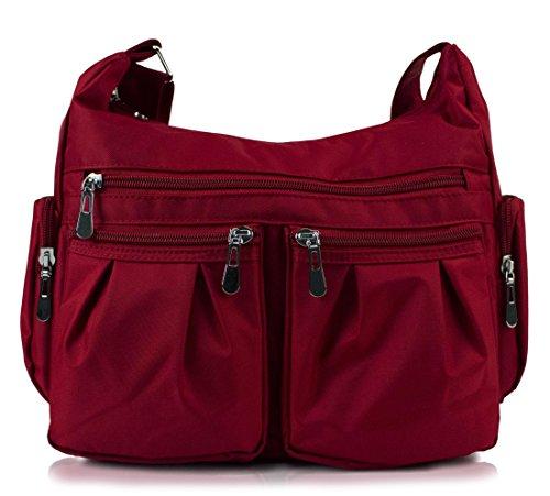 Scarleton Multi Pocket Shoulder handbag, Handbags for women, Purses for Women, H1407