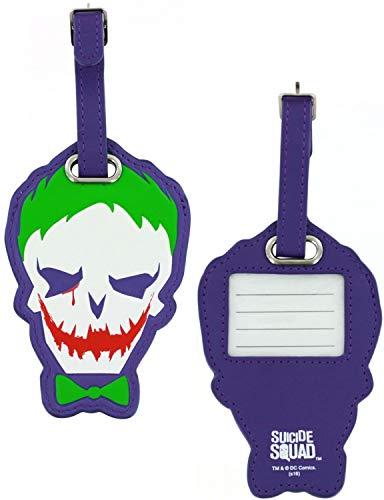 Suicide Squad Joker PU Luggage Tag