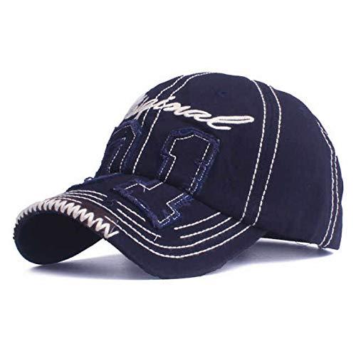 Handcuffs Unisex Baseball Caps Adjustable Stylish Sun Protective Cap for Men Women (Dark Blue)