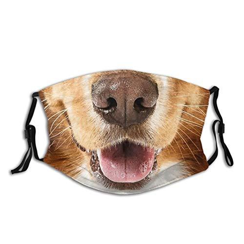 Dog mouth face mask