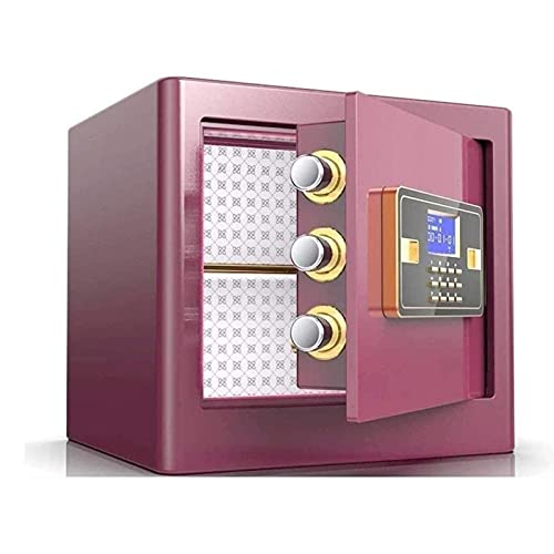 KJLY Gabinete Cajas Fuertes electrónica Digital Seguridad Cajas seguras keypad Bloqueo en casa Oficina Hotel Negocio joyería Efectivo Uso Dinero Dinero Huellas Dactilares Cerradura de Seguridad