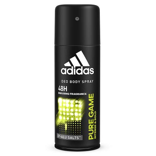 Adidas Sport Sensation Pure Game Deodorant Body Spray for Men, 48h protection,150ml