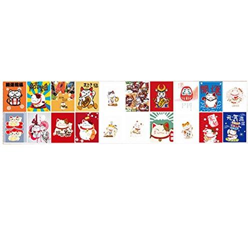 Goddness Bar Hängende Flagge im japanischen Stil Restaurant Hängende Ornamente Karpfenflagge (Stil 06)