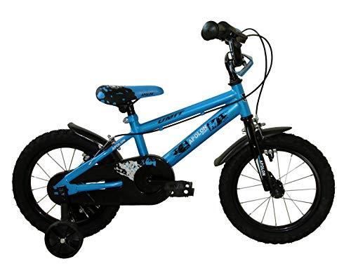Umit Bicicleta 14' APOLÓN AZUUL, Niños, Azul, Infantil