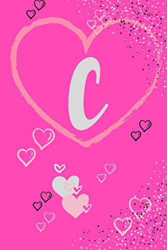 c: letters c,notebook and journals for ,the first lettres of nam my love.size 6*9 inch page 120.