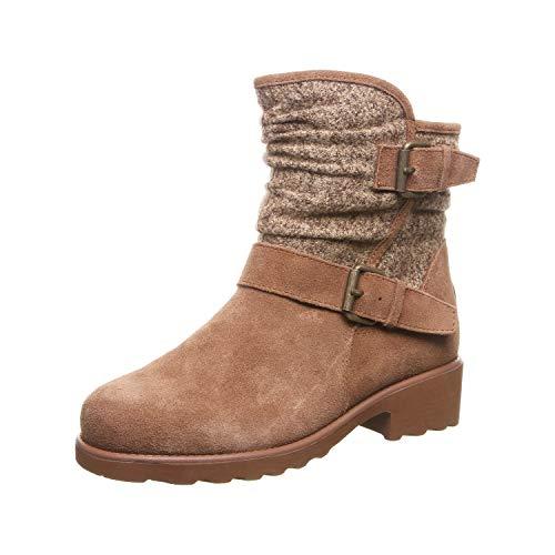 Bearpaw Damen Avery Biker Boots, Braun (Hickory Ii 220), 41 EU