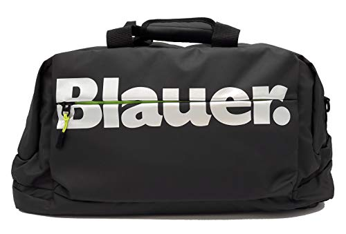 Blauer USA Collezione Josh, Borsone da Viaggio/Zaino, Bagaglio a mano, 52x27x26 cm, Nero