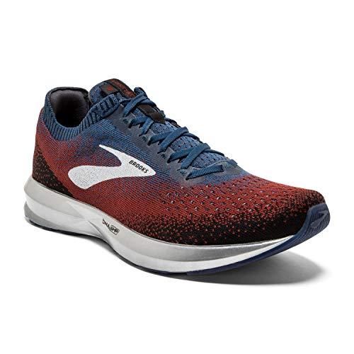 Brooks Mens Levitate 2 Running Shoe - Chili/Navy/Black - D - 8.0