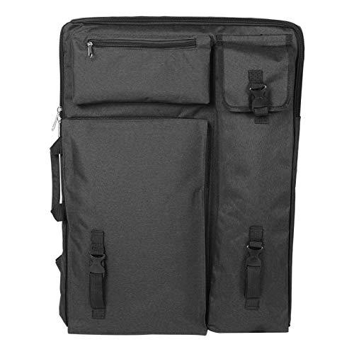 Leylor Art Bag -Multi-Fonction Grande Planche à Dessin étanche 4K Sac de Transport Sac de Fournitures d'art(Noir)