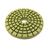 YYOBK JP 7pcs / Set Almohadillas De Pulido De Diamantes De 4 Pulgadas, Discos De Pulido Húmedo De 6 Mm, Discos De Pulido De Mármol De Piso De Concreto (Color : 500)