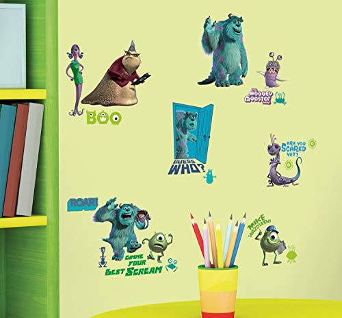 Disney's Monsters Inc. Wall Decals 18 x40