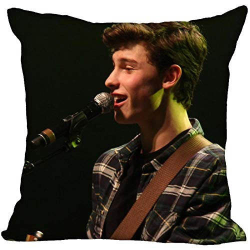 LIFUQING Shawn Mendes (Shawn Mendes) Pillowcase For Home Decoration Pillowcase Invisible Zipper PillowcaseCushion cover 17.7 x 17.7 inches