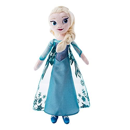qiegui 40Cm Lindo Muñeco De Peluche Princesa Frozen Elsa Anna Muñecos De Peluche De Juguete Regalos De Cumpleaños Rellenos Suaves para Niños