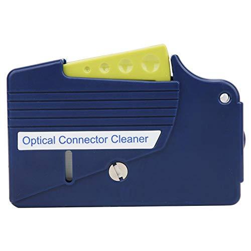 Glasfaser-Reinigungswerkzeug, Glasfaser-Reiniger, Reiniger für optische Steckverbinder Kassetten-Endflächenreiniger für Glasfaser-Steckverbinder FC/SC/LC/MU / D4 / DIN-Steckverbinder