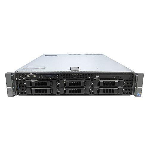 """Dell PowerEdge R710 6*LFF 2xIntel Xeon 6Core Processor L5640 (12M Cache, 2.4GHz) 128GB DDR3ECC Reg, HDD 2X 2TB SAS 3,5"""", Rack 2U, 2xLAN1000, Perc6i Raid Controller(Reacondicionado Certificado)"""