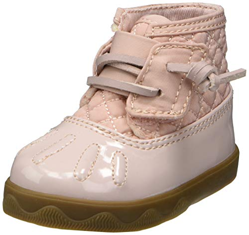 Sperry Baby Icestorm Crib Rain Boot, Blush, 4 US Unisex Infant