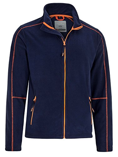Fifty Five Herren Fleecejacke Outdoorjacke Greenwood Blau XL